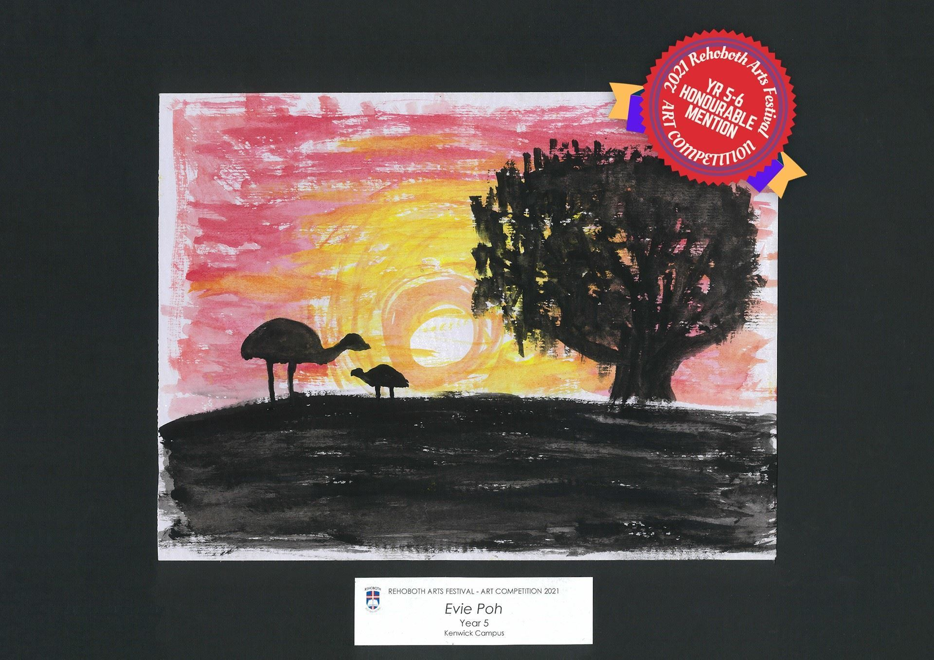 Evie Poh - Honourable Mention